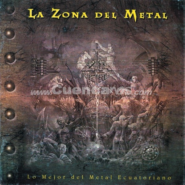La zona del metal .- En 1998 nuevamente son incluidos en un CD compilatorio