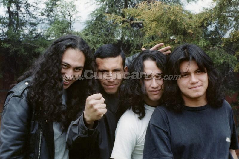 1999-2001 .- JUAN PABLO HURTADO - VOZ PAULO FREIRE - GUITARRA  XAVIER CALLE - BAJO  PAUL GOMEZ - BATERIA