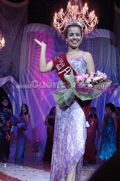 Belén Arichávala .- Belén Arichávala, Reina del Azuay 2008
