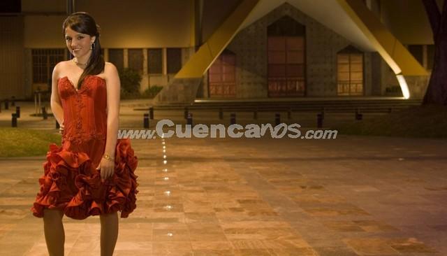 Tatiana Dávila Avila .- Tiene 24 años y representa a EMAC
