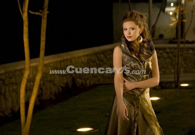 María Fernanda Segovia .- Tiene 20 años y representa a CEMUART