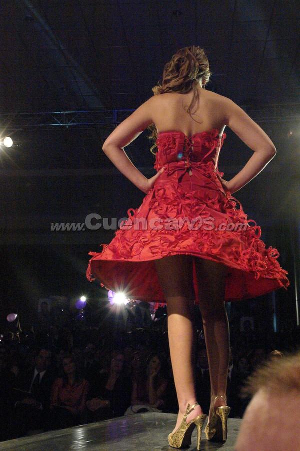 Daniela Arias Ramos .- Candidata a Reina de Cuenca 2008, en el evento que se realizó en el Centro de Convenciones del Mall del Río, el día Viernes, 24 de octubre de 2008 a las 21h00.