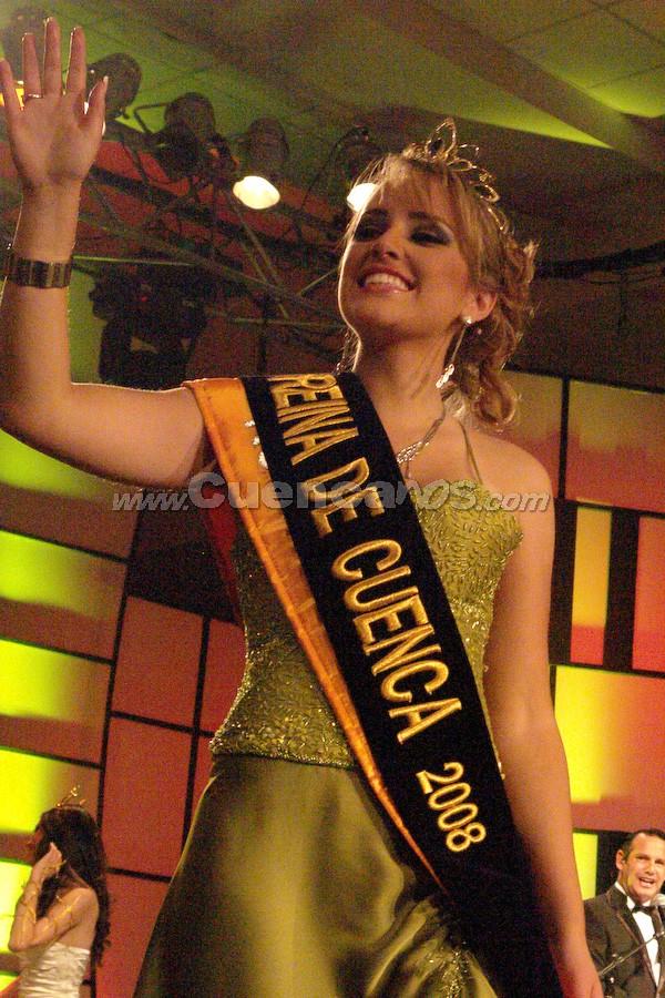 Daniela Arias, Reina de Cuenca 2008 .- Daniela Arias, Reina de Cuenca 2008