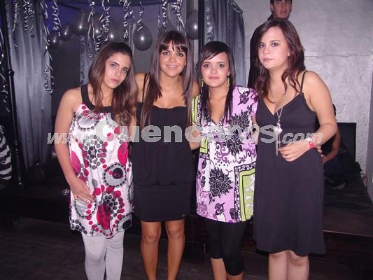 Farra en Lit por Fiestas de Cuenca 2008 .- Ana Isabel Carvallo, Paola Escudero, María Paula Carpio, Cristina Guillén