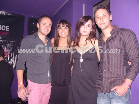 Farra en Lit por Fiestas de Cuenca 2008 .- Andrés Talbot, Cristina Guillén, Paola Escudero, Pedro Cueva.