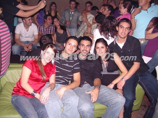 Farra en Loft por Fiestas de Cuenca 2008 .- Dolores Zambrano, Boris Castro, Freddy Castro, Tania Coronel, Francisco Castro