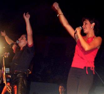 Concierto Pablo Herrera en Cuenca .- 'Canciones como 'Hay un amor', 'Si tu supieras' fueron entonadas por el público que disfrutó durante toda su presentación'
