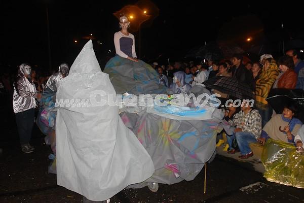 Inocentes 2009 .- El 6 de enero, la ciudad de Cuenca se