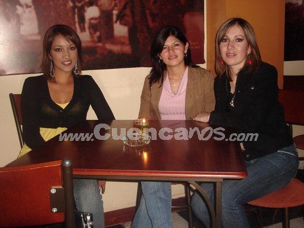 Farreando en Julián Matadero .- Super divertidas encontramos a Silvana Encalada, Geovanna Dominguez y Paola Pesántez