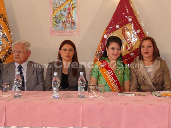 Inscripción de las Candidatas .- En los salones del hotel crespo se realizo la inscripción de las candidatas a Morlaquita 2009.