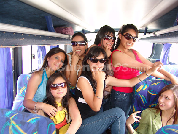 Paseo de las Candidatas .- En Gualaceo se realizo el tradicional paseo de las candidatas a Morlaquita 2009.