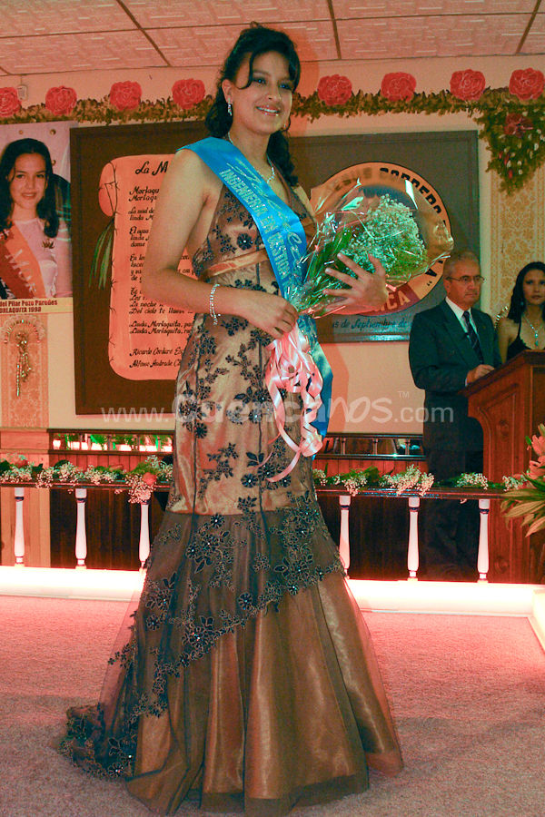 Presentación de las Candidatas a Morlaquita 2009 .- En los salones de la Estancia Luis Cordero el Grande el viernes 27 de Marzo del 2009 se realizo la presentación de las hermosas 38 quinceañeras que busca ser la nueva morlaquita 2009.