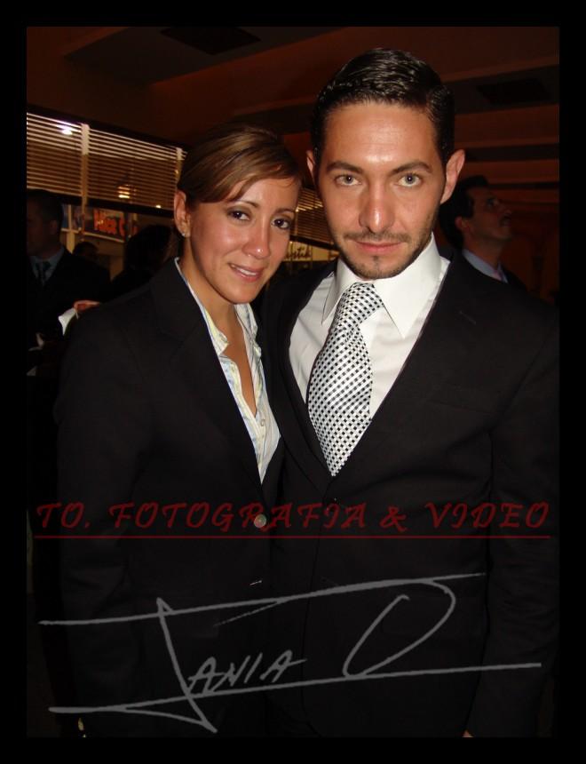 Reina de Cuenca 2007 .- Diana Andrade y Gustavo Moscoso