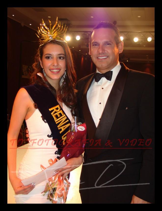 Reina de Cuenca 2007 .- Estefani Chalco y Wladimir Vargas