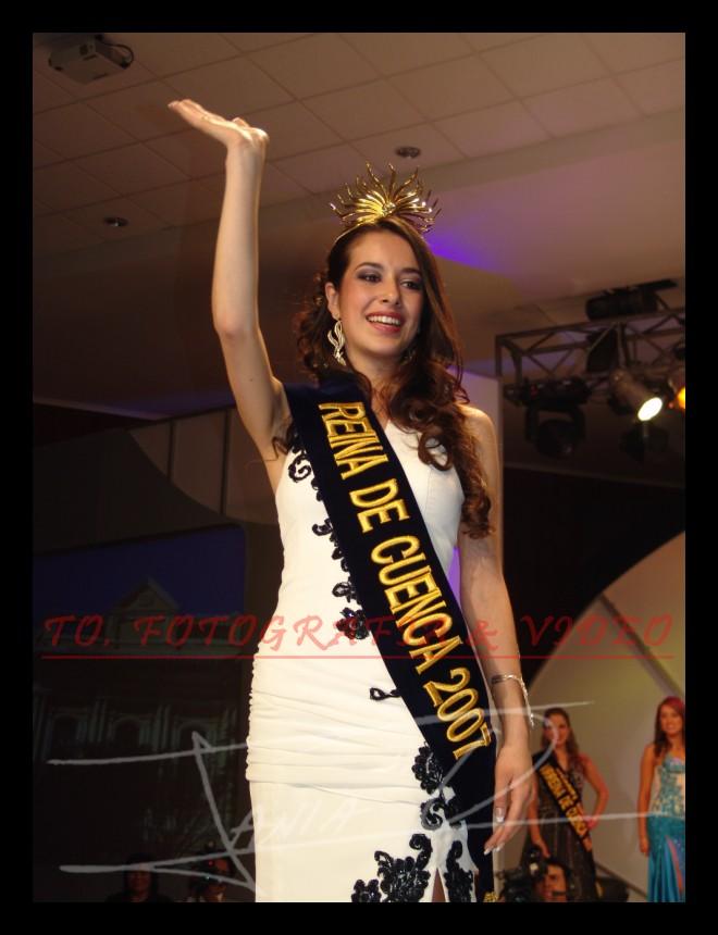 Reina de Cuenca 2007 .- Estefani Chalco, Reina de Cuenca 2007