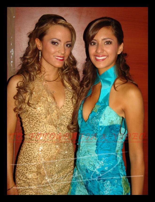 Reina de Cuenca 2007 .- Maria Elisa Calderón y Karla Lopez