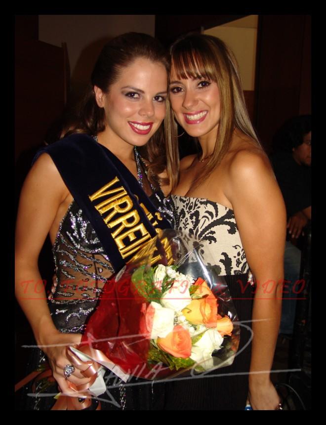 Reina de Cuenca 2007 .- Salome Velez y Maria Alejandra Valdiviezo S