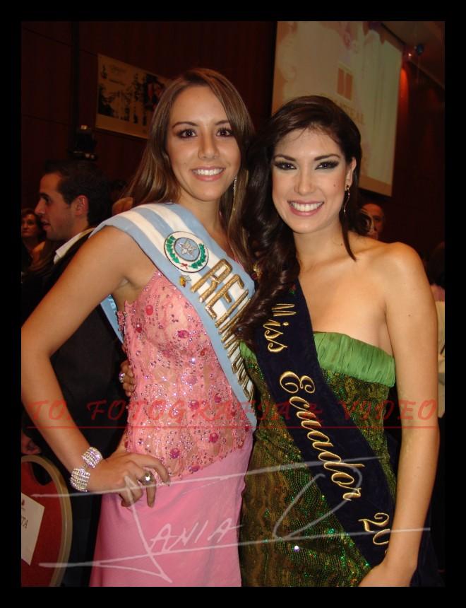 Reina de Cuenca 2007 .- Veronica Ochoa y Lugina Cabezas