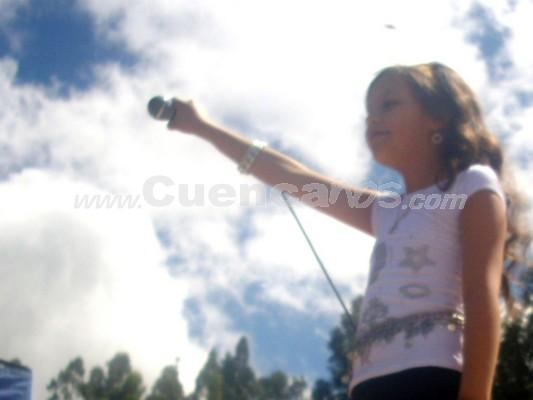 Michelle Cordero .- Silvia Alvarado catalogó a Michelle como la sucesora de XUXA