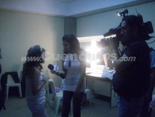 Michelle Cordero .- Michelle ha compartido escenario con Christian Pes�ntez y a participado en eventos realizados por Jesus Pes�ntez
