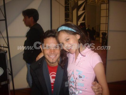 Michelle Cordero .- Michelle junto a Daniel Betancourt
