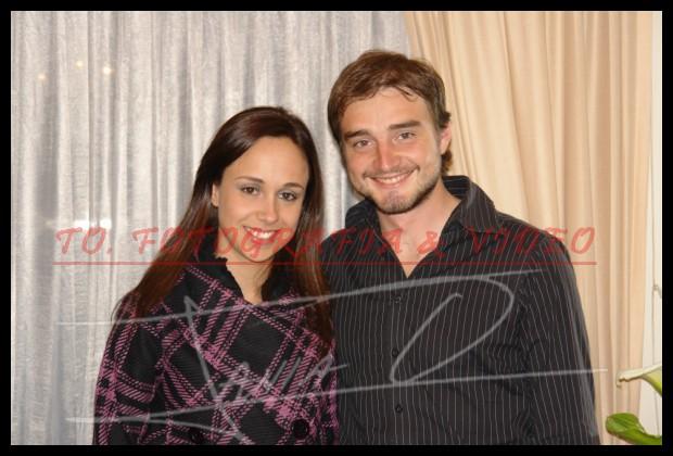 Cumpleaños Alexandra Donoso .- Alexandra Donoso y José Luis Vega