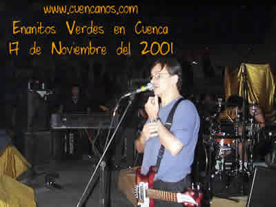 Concierto de Enanitos Verdes .- 'Enanitos Verdes oriundos de la provincia de Mendoza, Argentina, tienen su origen como trío en noviembre de 1979.'