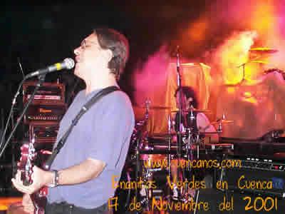 Concierto de Enanitos Verdes .- 'En 1986 firman contrato con CBS Argentina, ahora Sony Music, y lanzan su segundo álbum,