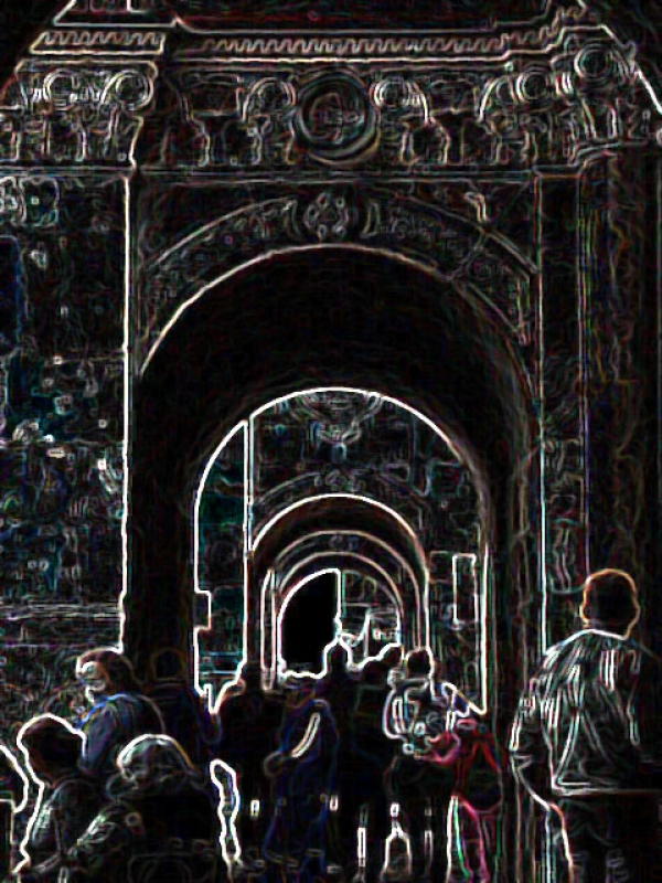 Cuenca Abstracta por Mateo Bueno .-