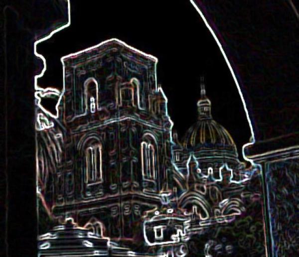 Cuenca abstracta Mateo Bueno .- Tras fulgores y destellos