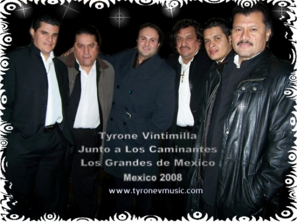 Tyrone Vintimilla y los Caminantes de Mexico .- Para mis Cuencanos.com