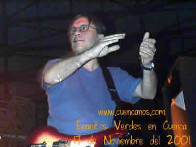 Concierto de Enanitos Verdes .- 'En 1987 , graban su caurto disco 'Carrousel' con canciones como Guitarras Blancas y No me verás'