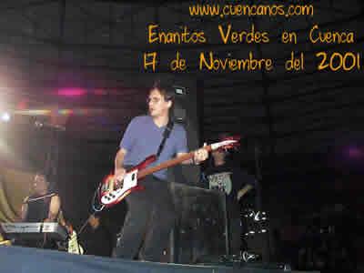 Concierto de Enanitos Verdes .- En 1992 el grupo vuelve a juntarse para continuar tocando. Los Enanitos Verdes graban 'Igual que ayer' su sexto álbum.