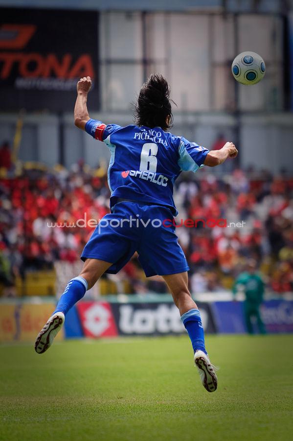 Deportivo Cuenca vs Espoli 12 de Julio del 2009 .- En el Estadio Alejandro Serrano Aguilar de la ciudad de Cuenca se realizo el Partido entre el Deportivo Cuenca y el Espoli donde lastimosamente el equipo rojo perdió por la mínima diferencia.