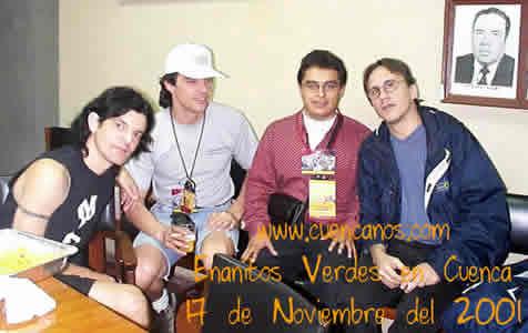 Concierto de Enanitos Verdes .- 'La canción 'la Muralla' lleva a los Enanitos Verdes a convertirse en una de las bandas más renombradas del rock latino.'