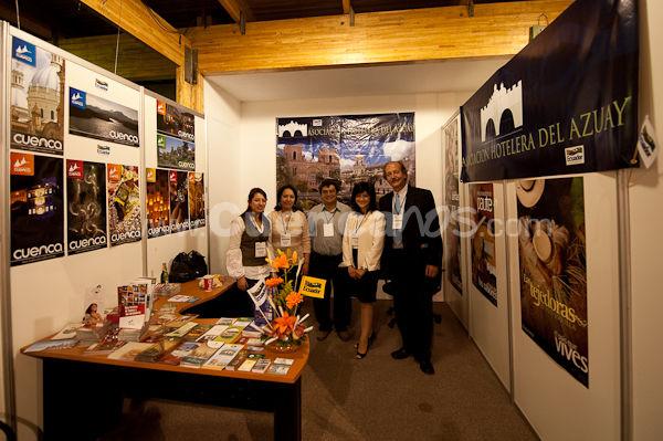 Feria Expo Ahotec 2009 .- En la ciudad de Quito en el Centro de Exposiciones se realizo la 44aba asamblea de la Ahotec (Federación Hotelera del Ecuador) donde www.Cuencanos.com fue invitado, en esta feria diferentes empresas que venden productos y servicios para hoteles mostraron sus productos, en la inauguración del evento estuvieron presentes el Vicepresidente de la Republica y la Ministra de Turismo.