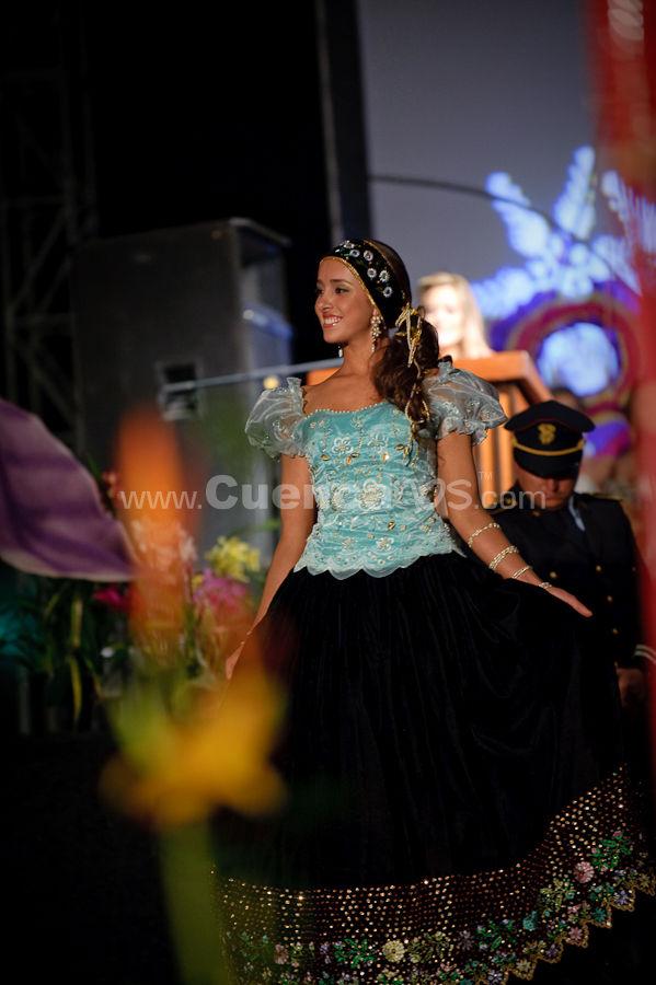 Elección Traje Típico de Candidatas a Reina de Cuenca 2009 .- Ana Carolina Flores- Candidata a Reina de Cuenca 2009<br>El miércoles