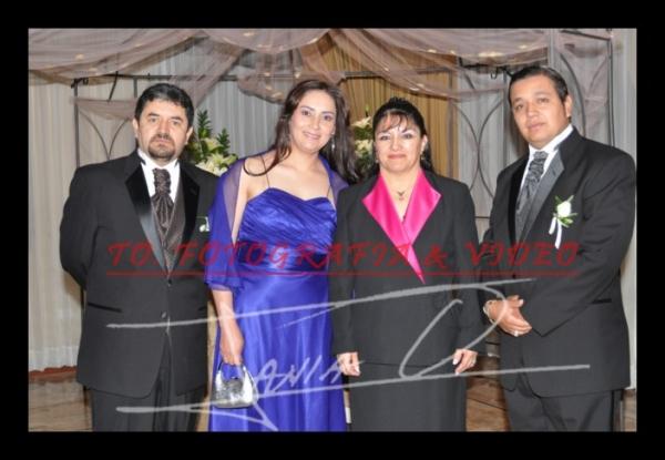 Boda Shanette Encalada, Samir Dawoud .- Klermo Pacheco, Sandra Bustamante, Rosa Calle, Hernàn Astudillo-PADRINOS
