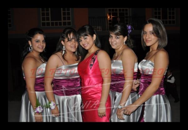 15 años Betsy Portilla .- Fernanda Vàzquez, Carolina Ulloa, Nicole Portilla, Romina Guillèn, Margarita Piña
