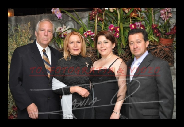 15 años Betsy Portilla .- Wayne Hanson, Estec Hanson, Priscila Vazquez, Ivàn Portilla
