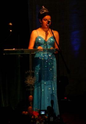 Elección Reina del Azuay 2004 .- Marcela León Reina del Azuay 2003