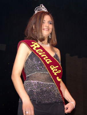 Elección Reina del Azuay 2004 .- Adriana Zúñiga Pacheco Reina del Azuay 2004