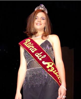 Elección Reina del Azuay 2004 .- Adriana Zúñiga Pacheco Reina del Azuay 2005