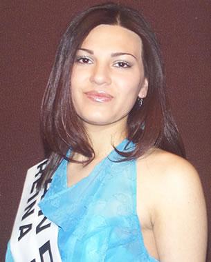 Presentación de las Candidatas a Reina del Azuay .- Karina Fernández representante del cantón Cuenca