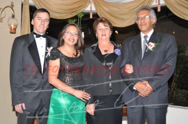Boda Diego Abad y Andrea Delgado .- Diego Arce, Maritza Sànchez, Marina Aguilar, Raùl Criollo-PADRINO
