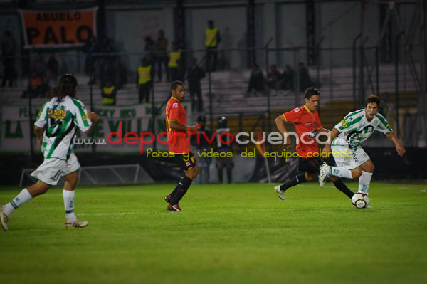 Deportivo Cuenca vs. Banfield  17 de Febrero del 2010 .- En el estadio Alejandro Serrano Aguilar de la ciudad de Cuenca se jugó el cotejo entre el equipo Colorado y el equipo Argentino Banfield, donde lastimosamente nuestro equipo local perdió el partido por la diferencia de 4 goles a 1.