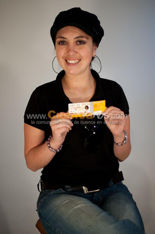 Ganadores Elvis Crespo .- Ellos Participaron y Ganaron una entrada para el concierto de Elvis Crespo a realizarse en Cuenca.