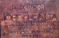 José Peralta .- José Peralta nació en el villorrio de Gualleturo (entonces perteneciente a la provincia del Azuay) en 1855. La Partida Bautsmal de Peralta se encontró en la parroquia El Sagrario de cuenca, con fecha 15 de mayo de 1855. Murió en Quito, luego de una larga vida de combate ideológico, de persecuciones y destierros, pero al fin, respetado por todos, el 27 de diciembre de 1937.