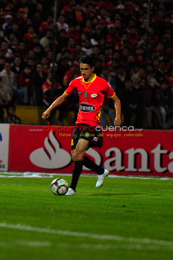 Deportivo Cuenca vs Morelia 9 de Marzo del 2010 .- En el estadio Alejandro Serrano Aguilar de nuestra ciudad los camisetas rojas le ganaron al equipo mexicano de Morelia, el cual perdió por 2 tantos a 0, este puntaje ayuda al Deportivo Cuenca y le da esperanzas para clasificar a la segunda etapa de la copa libertadores de América.