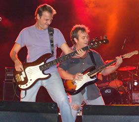 Concierto de Hombres G en Cuenca .- Al igual que en mayo del 2002 David, Rafa y Javi demostraron que los Hombres G estarán por siempre en el corazón de su fans
